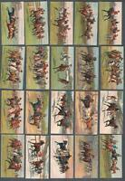 1927 Carreras Races-Historic & Modern Tobacco Cards Complete Set of 25