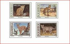 NAM9703 Wild cats 4 stamps