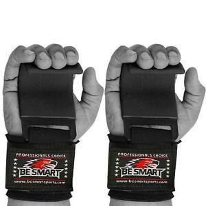 Gym Weight Lifting Hooks Straps Hand Bar Wrist Brace Support Gloves Grip