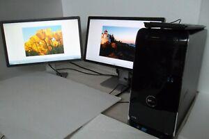 "Dell XPS 8500 Intel Core i7 3.40GHz 16GB 500GB Wi-Fi Nvidia GT 640 w/22"" Monitor"