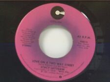 """STACY LATTISAW """"LOVE ON A TWO WAY STREET / BABY I LOVE YOU"""" 45 MINT"""