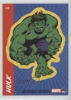 2010 Rittenhouse 70 Years of Marvel Comics Sticker Cards #S3 Hulk Card 2i3