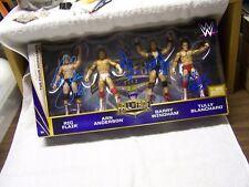 WWE Four Horsemen signed Action Figure Set w/COA  HISTORY  Nature Boy Ric Fair