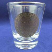 "Washington DC United States of American seal Gold Printing Shot Glass 2.5"" Tall"