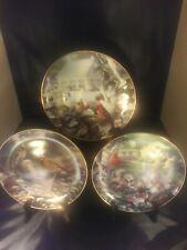Collector Plates (3) by Bradley Jackson Family Album Series 1993 Danbury Mint