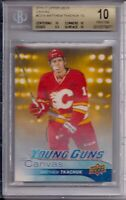 16/17 Upper Deck Canvas Young Guns Matthew Tkachuk BGS 10 Pristine #3