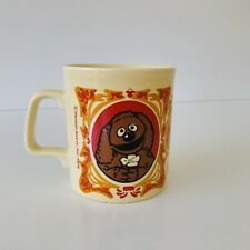 🔥VTG MUPPETS SHOW ROWLF COFFEE CUP MUG JIM HENSON KILN CRAFT MADE IN ENGLAND 78