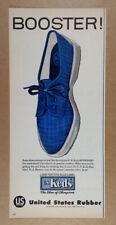 1957 US Keds BOOSTER Shoes vintage print Ad