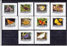 biberpost Serie Schmetterlinge butterfly 10 Marken