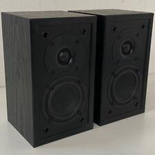Pair of High Quality Jamo S 412 Bookshelf Stereo Speakers - 2 Way - Denmark