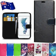 NEW Universal PU Leather Wallet Case Cover for Kogan Agora 6 / 8 LTE 4G