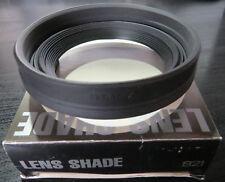 Hoyarex 921 - Extendable Rubber Lens Hood / Shade - BNIB