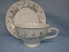 STYLE HOUSE CHINA Cup & Saucer PICARDY EXC