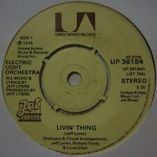 "Electric Light Orchestra(7"" Vinyl)Livin' Thing-United Artist-UP 36184-UK-Ex/VG"