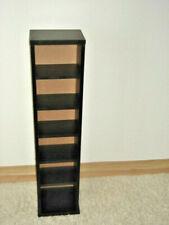 Standregal/CD-Ständer aus Holz Schwarz, Marke: Jago