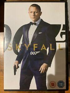 Skyfall DVD 2012 James Bond Action Movie with Daniel Craig