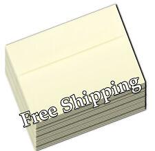 Ivory Cream Ecru A7 Envelopes 5-1/4 x 7-1/4 for 5 x 7 Greeting Invitation Shower
