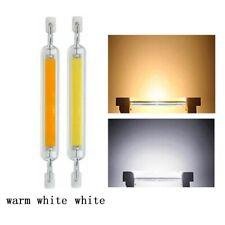Dimmable R7S LED Glass Tube Light Ceramic COB Bulb 5W 10W 78/118mm Lamp 110-220V