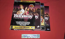 RUNAWAY RUN AWAY EDITION COLLECTOR PC CD-ROM PAL COMPLET