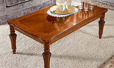 LUXE Table basse TORRIANI JOUR noyer placage classique meubles de style italie