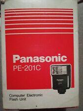 Panasonic PE-201C Computer Electronic Flash Unit #2305MS