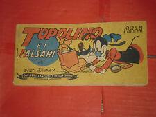 ALBI TASCABILI di TOPOLINO-STRISCIA N° 157-c-prima 1° SERIE originale del 1951