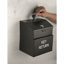 Sandleford KEY DEPOSIT BOX SAFE 215mm + Fixings, Lockable Wall Mount *Aust Brand