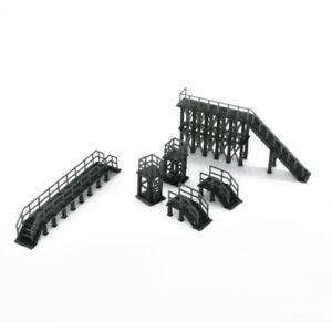 Outland Models Modelleisenbahn Industrielle Plattformen und Treppen 1:160 Spur N