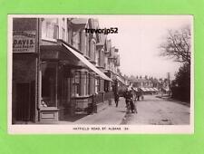 Hatfield Road St Albans  Shop unused RP pc Kingsbury Ref A751