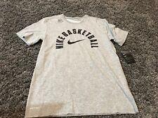 Nike dri fit Gray Black Swoosh Basketball t shirt NBA All Star Lebron 23 KD XXL