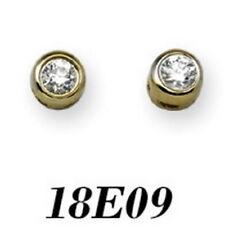 Pendientes de joyería con diamantes en oro amarillo I1