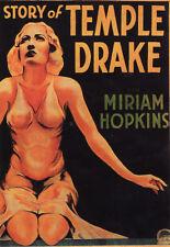 The Story of Temple Drake - 1932 - Miriam Hopkins Jack La Rue Pre-Code Film DVD