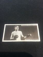 Don Shortland 39 1928 Ogdens Boxing Cigarette card Boxer Pugilists in action