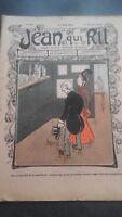 Revista Jean Que Rit N º 419 1909 Journal Demuestra Aparecen El Viernes Con ABE