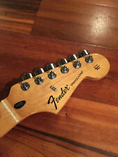 2008 Fender Stratocaster Standard Strat Maple Neck Tuners Plate