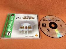 Final Fantasy Tactics *Greatest Hits* Playstation PS1 1 PSOne Complete!