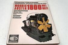 AUSTIN 1800 Mk 1 & 2 Workshop Manual