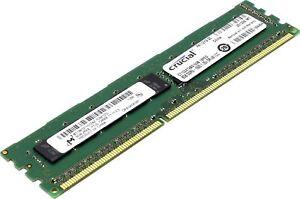 Crucial  8GB ECC Unbuffered DDR3 1600MHz PC3-12800 1x 8GB Memory 1.35V