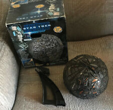 STAR TREK FIRST CONTACT BORG SPHERE SHIP WITH BOX PLAYMATES 1996