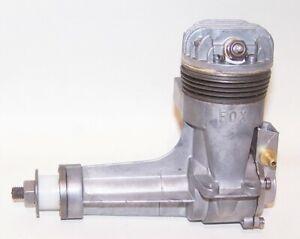 New 1951 Fox .59 Long Shaft Stunt Control Line Model Airplane Engine