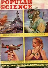 Popular Science Magazine February 1945