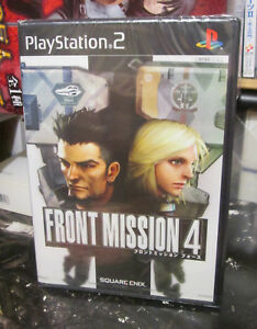Front Mission 4 (2003) Brand New Factory Sealed Japan PlayStation 2 PS2 Import