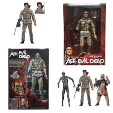 "ASYLUM ASH WILLIAMS Ash VS Evil Dead Series 2 NECA AVED 2018 7"" Inch FIGURE"