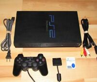 Playstation 2 Console PS2 Fat System Bundle w/ Official Controller