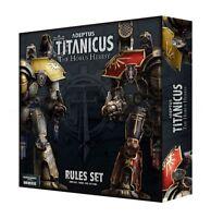 Adeptus Titanicus The Horus Heresy Rules Set - Warhammer - Brand New! 400-15-60