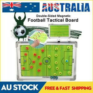 Magnetic Soccer Football Tactical Board Coaching Clipboard Guidance Training Aid