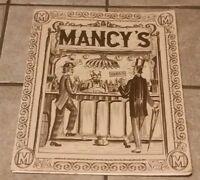 MANCY's Restaurant Toledo Ohio Vintage Food Drink alcohol menu w specials insert