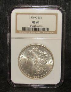 1899 O Morgan Dollar NGC MS 64