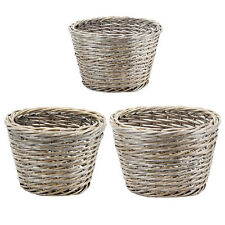 Oval Willow Basket Set Of 3 - HP40000