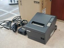Epson Thermal Receipt Printer M129h Tm T88iv Usb Cord And Power Supply Included